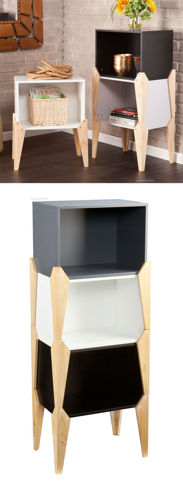 Stackable side tables   such a great idea    furniture design. Stackable side tables   such a great idea    furniture design