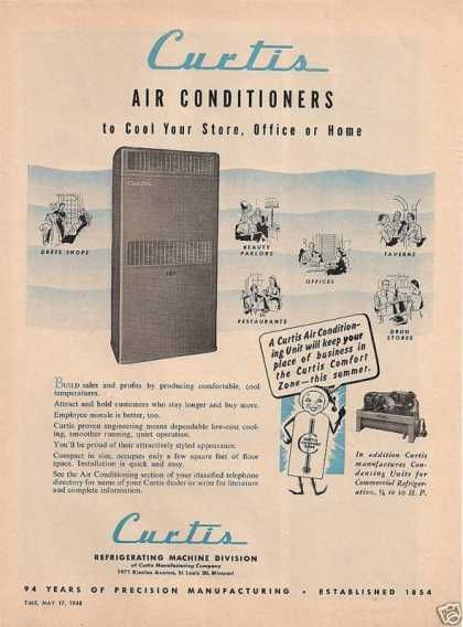 Curtis Air Conditione 1948 Vintage Advertisements Vintage Ads