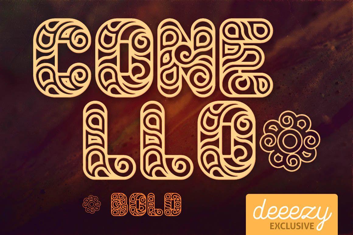 conellobolddeeezy1 Bold fonts, Fonts, Free graphics