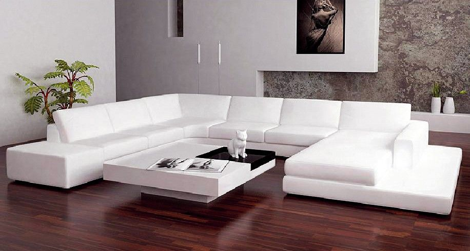 Saturn Leather Sectional Sofa Set   Black / White   LSF | Sofas | Pinterest  | Leather Sectional Sofas, Leather Sectional And Sofa Set