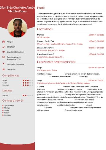 Telecharger Cv Wizard Cv En Ligne Faire Un Cv Modele De Cv Professionnel