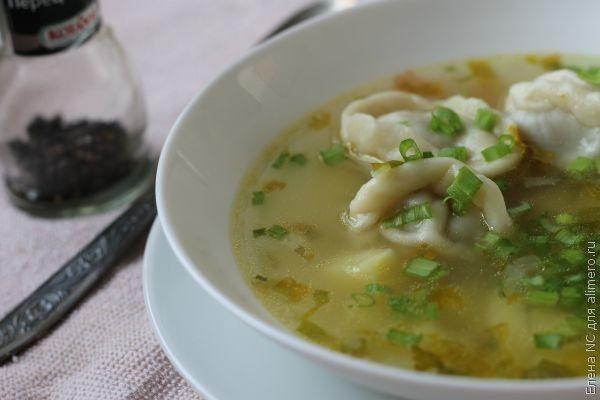 Суп с пельменями, рецепты с фото | Национальная еда, Идеи ...