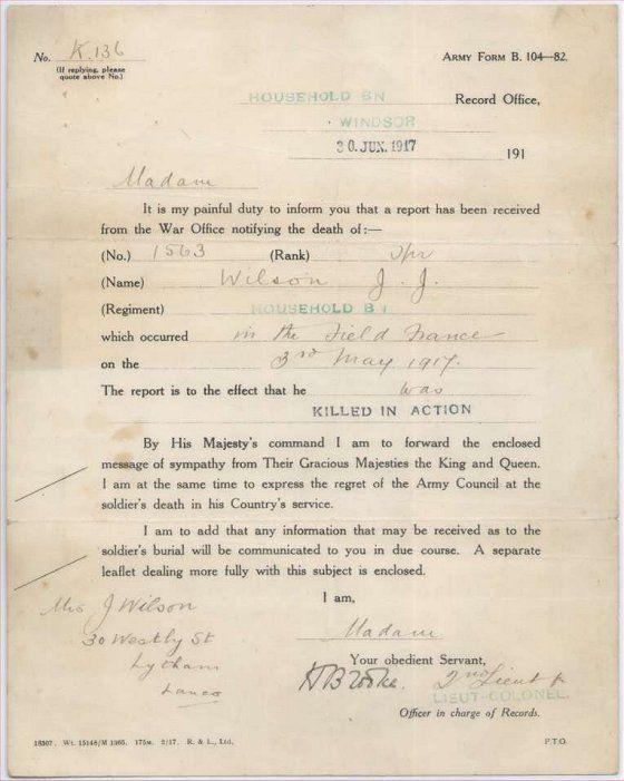 Typical death notification 1914 1918 ww1 pinterest typical death notification 1914 1918 spiritdancerdesigns Gallery