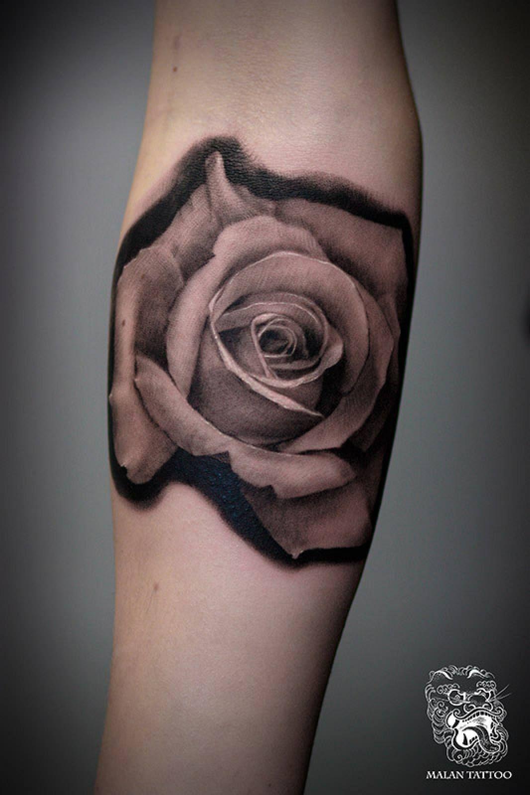 Rose portrait black and grey rose tattoo malan tattoo dublin
