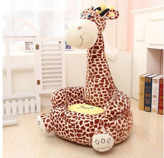 Kids Giraffe Sofa Chair in 2018 Home  Decor Bean bag chair