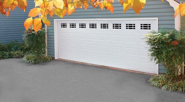 Amarr Heritage Garage Doors Short Panels With Prairie Windows True