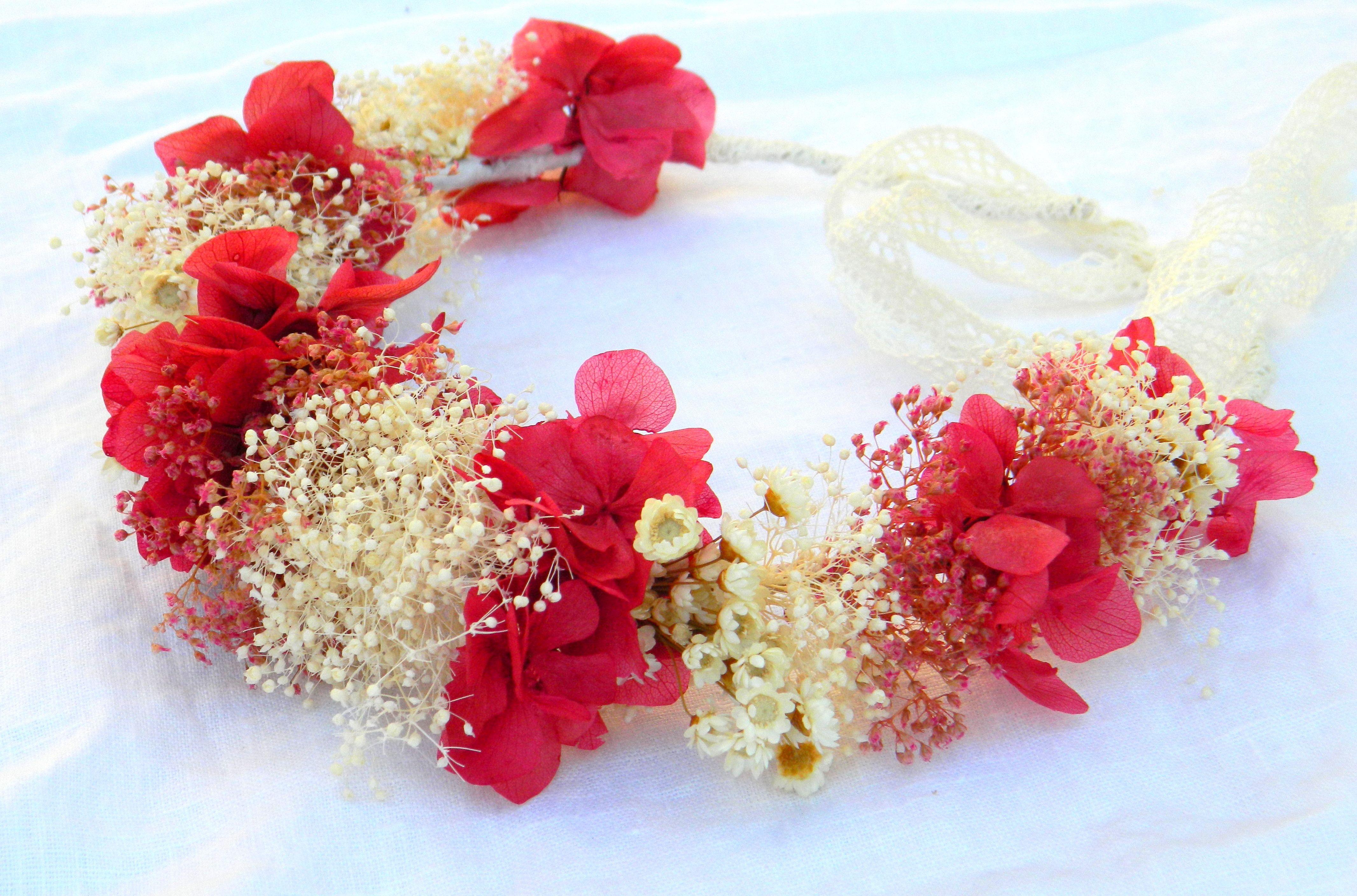 www.studiofloral.es nuvia, dama de honor, corona de flores