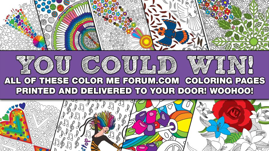 Color Me Forum - Adult coloring enthusiast community and free coloring pages!