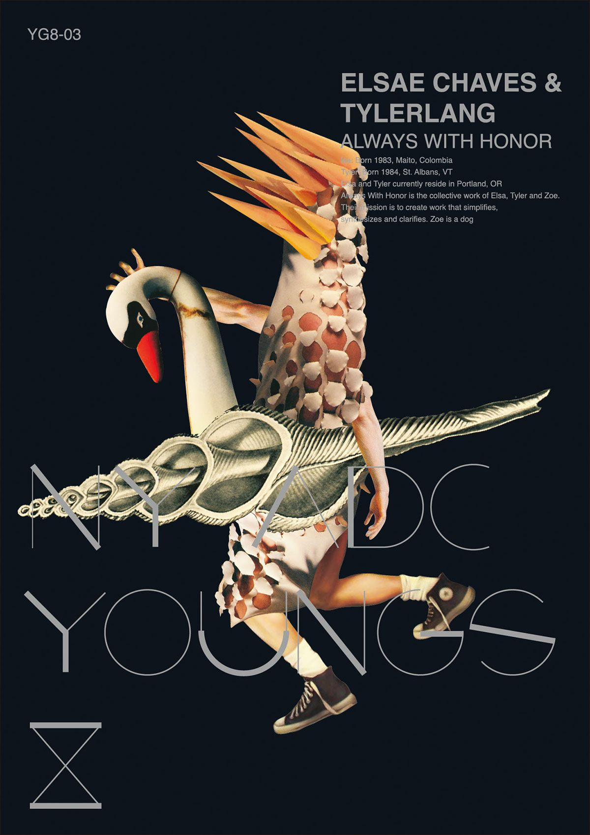 Visual Idntity of ADC Young Guns 8 on Behance
