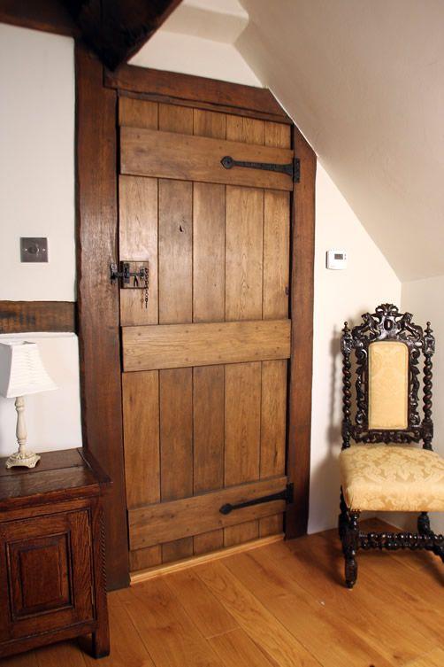 Traditional Oak Bedroom Door - Ledge and Brace & Traditional Oak Bedroom Door - Ledge and Brace | Dream Home ...