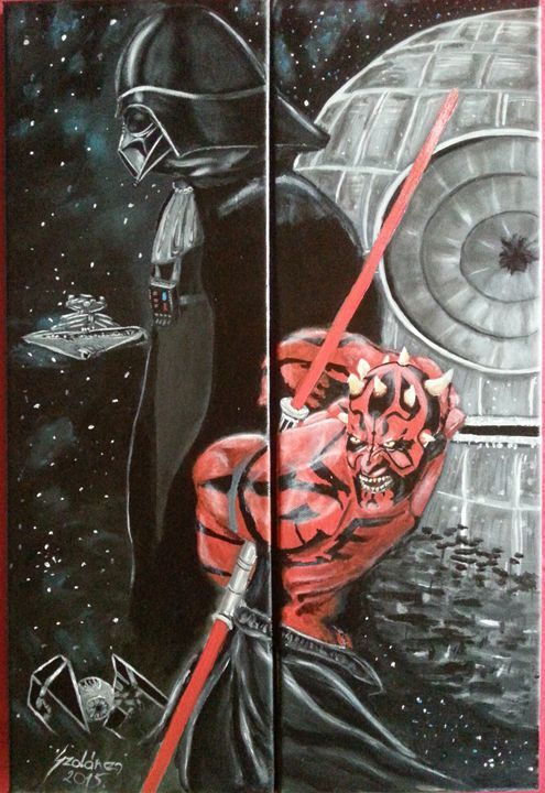 Star Wars - Szalanczi - Paintings & Prints Fantasy & Mythology Other Fantasy &… | ArtPal thumbnail