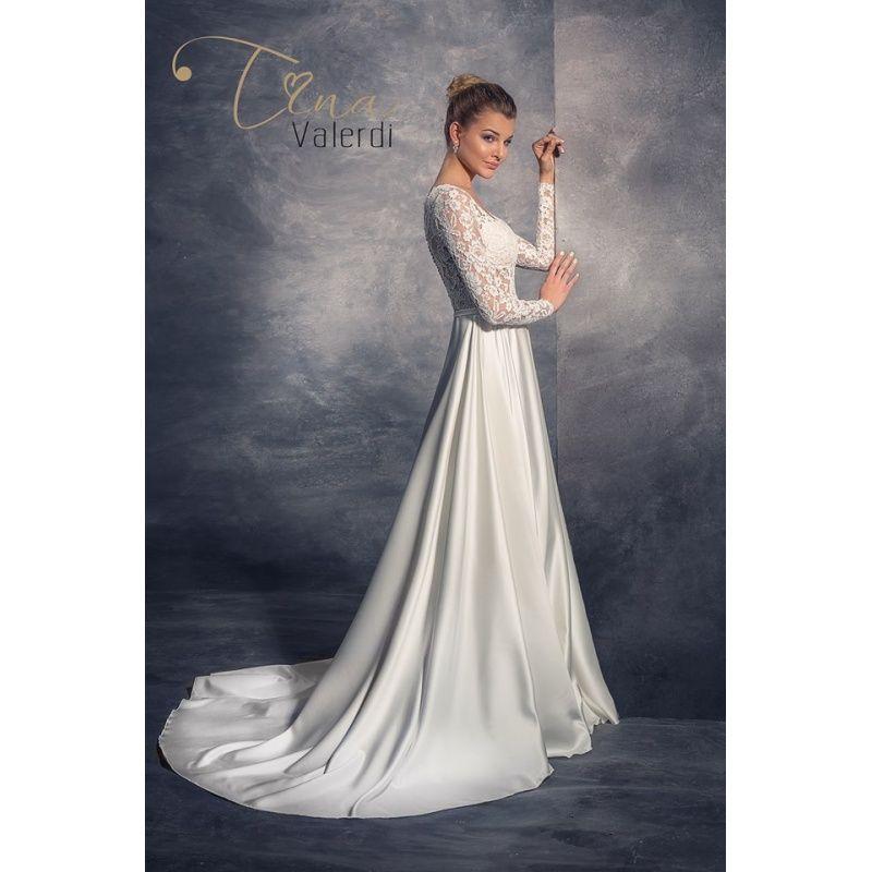 Prekrásne svadobné šaty so saténovou sukňou a čipkovaným živôtikom - predaj, šitie na mieru
