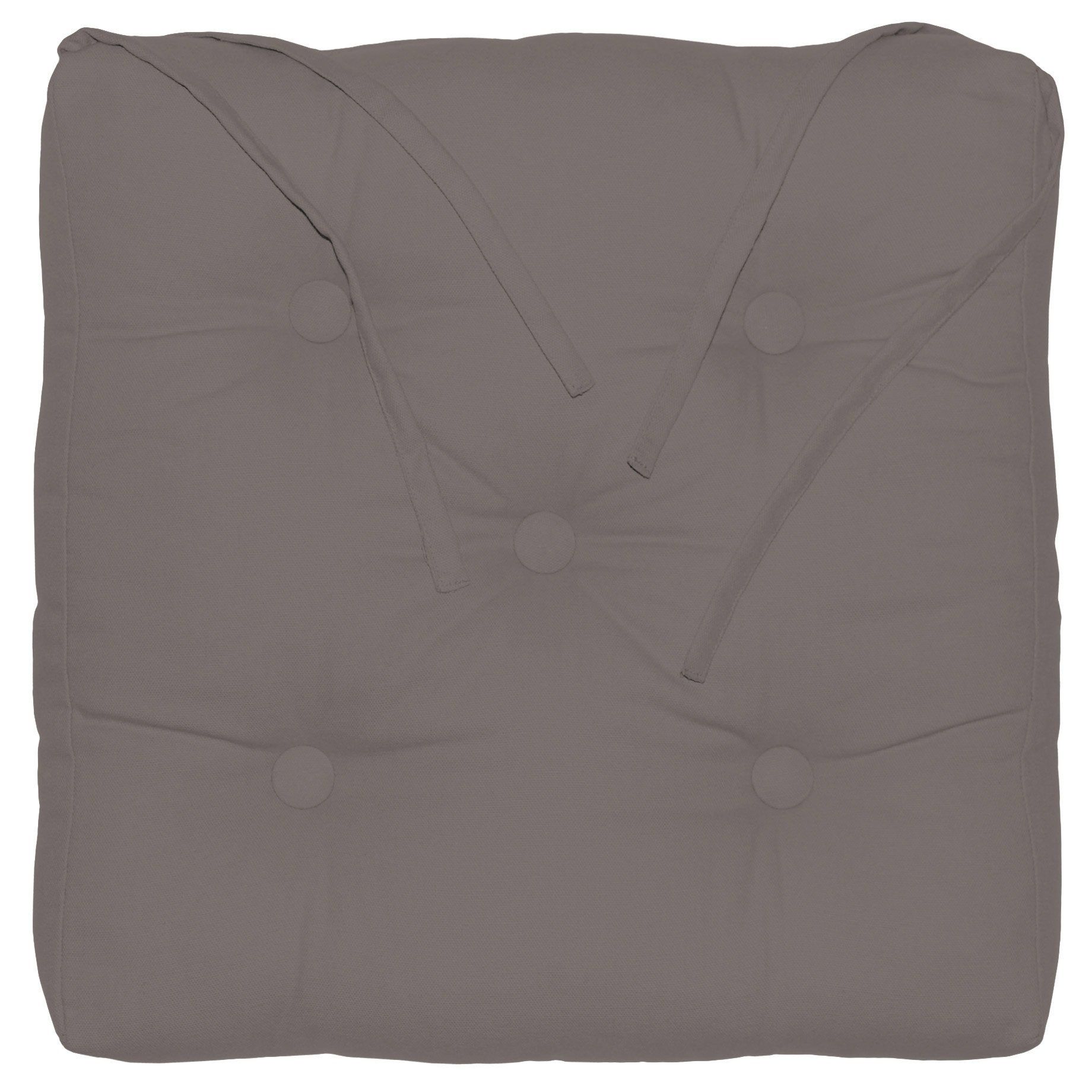 Galette De Chaise Newelema Inspire Taupe L 40 X H 40 Cm Galette De Chaise Galette Et Chaise