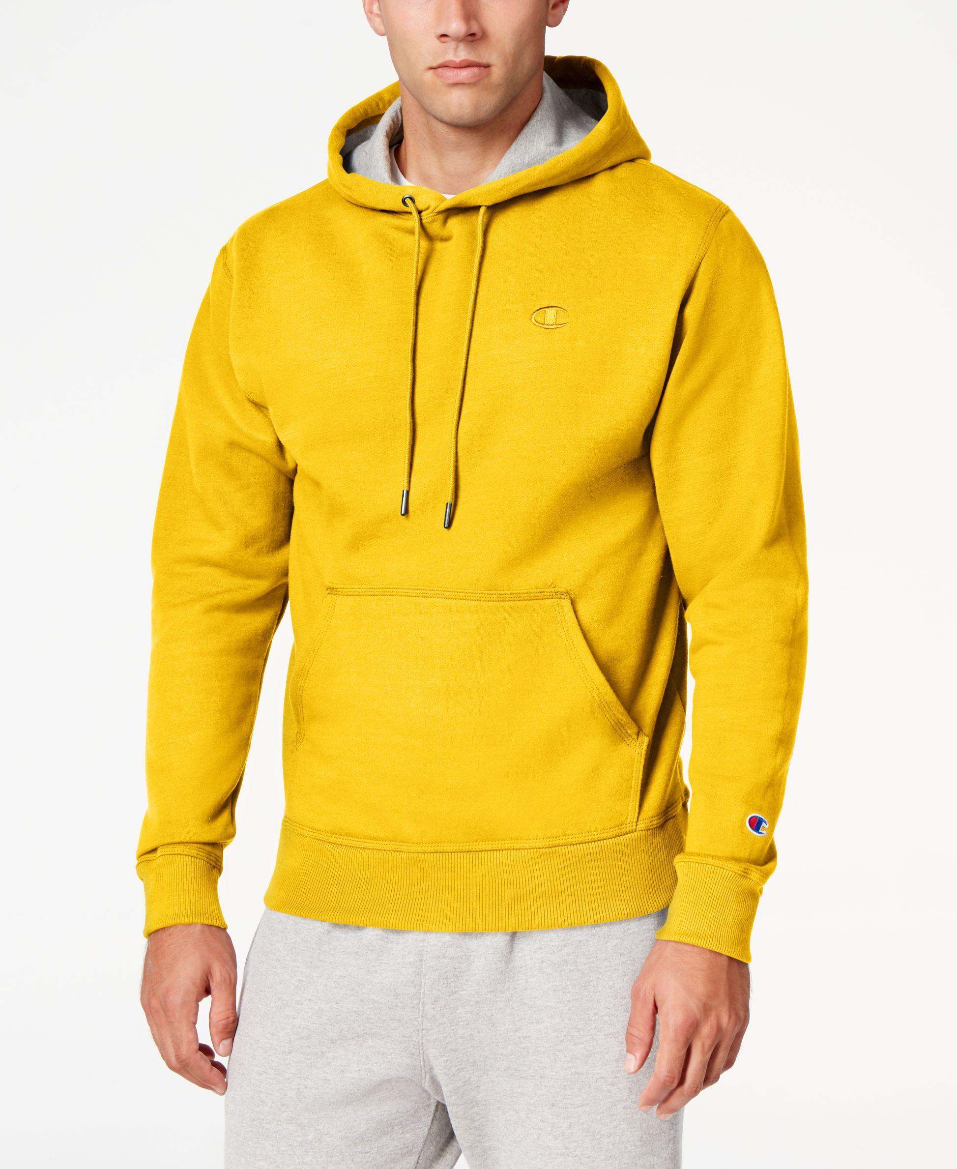 Champion Men S Powerblend Fleece Hoodie Reviews All Activewear Men Macy S Hoodie Outfit Men Fleece Hoodie Yellow Champion Hoodie [ 2378 x 1947 Pixel ]
