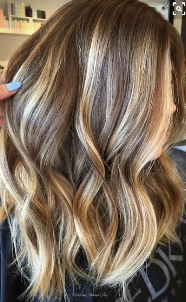 Great Highlights Hair Hair Blonde Balayage Balayage Hair