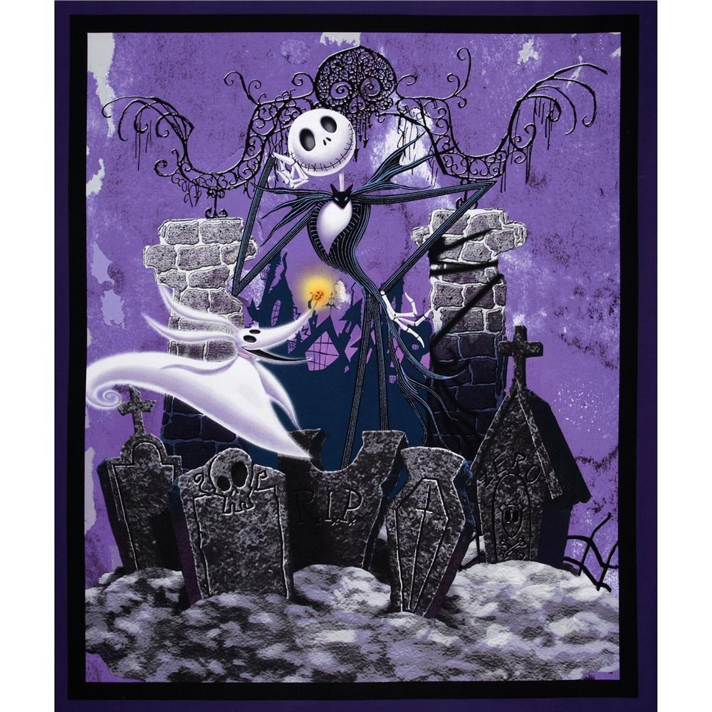 Custom Tim Burton/'s The Nightmare Before Christmas Silk Poster Wall Decor