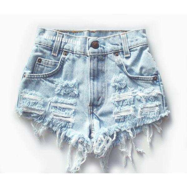 vintage levis high waisted denim shorts