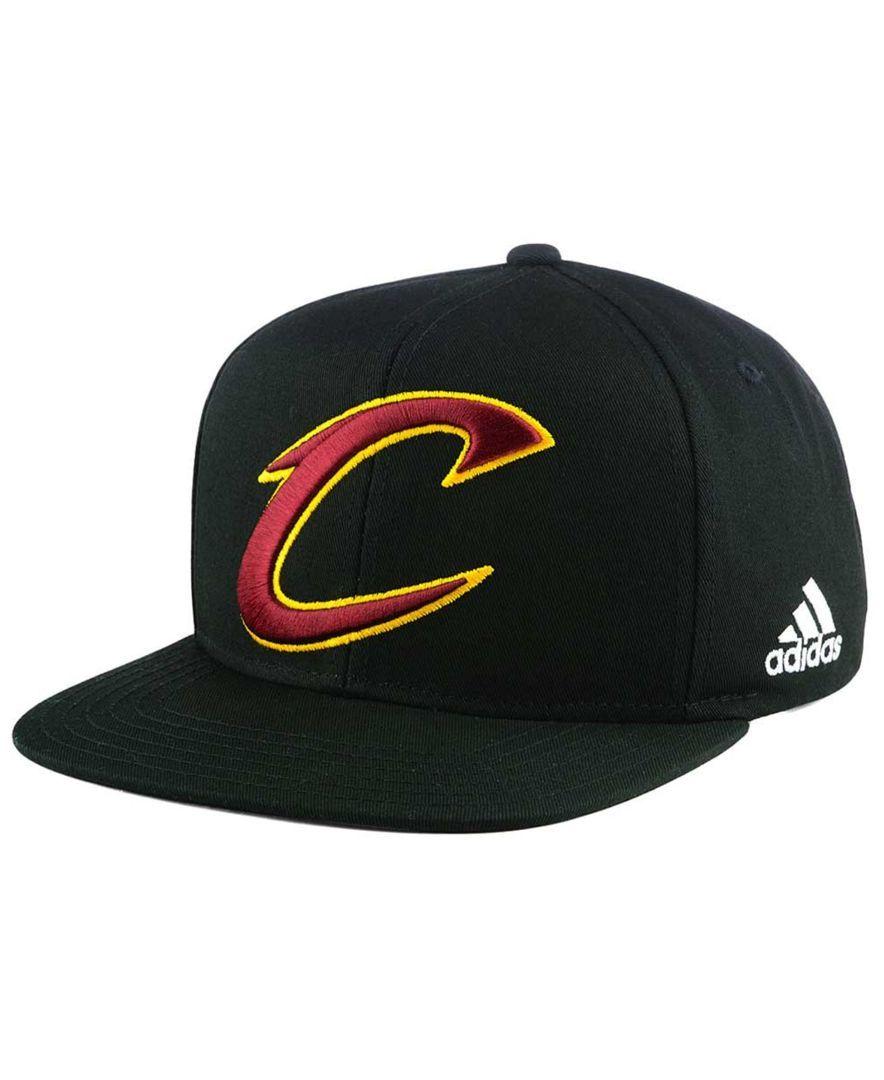 adidas Boys  Cleveland Cavaliers Xl 2-Color Snapback Cap  9d8cfc13817