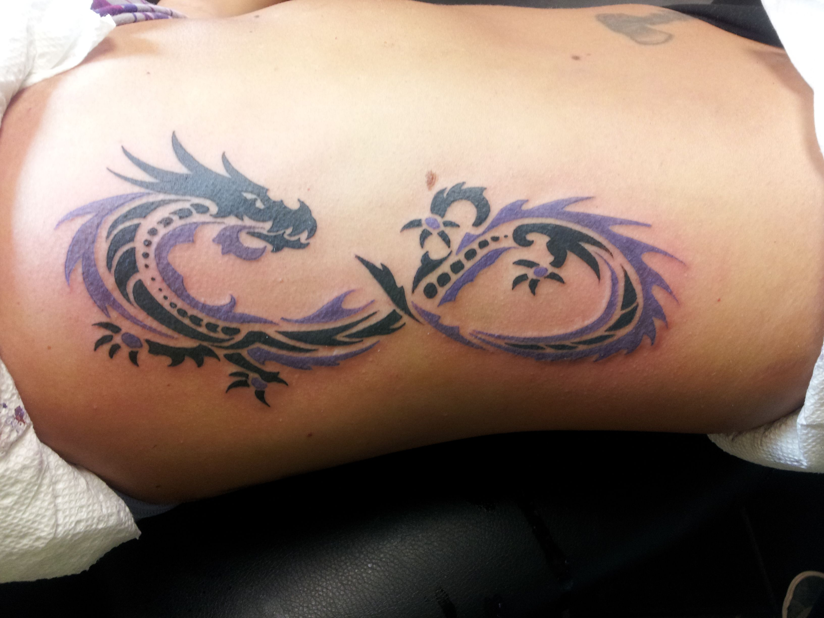 Henna Tattoo Tribal Designs Dragon: Infinity Dragon... When Complete Will Have A Saying With