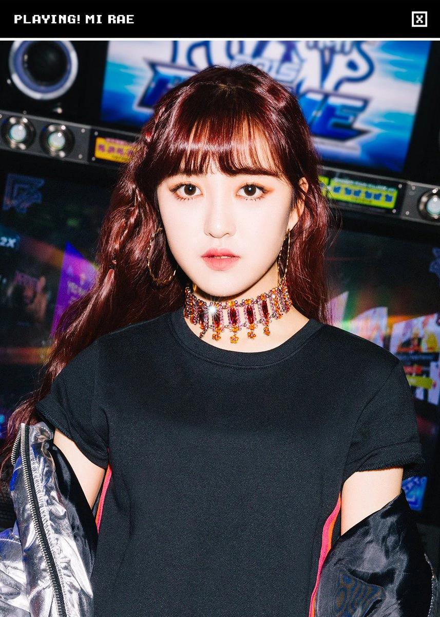 Mi Rae Cherry Bullet Kpop Wiki Fandom Kpop Girls Korean Girl Groups Debut