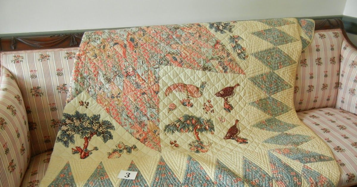 The Montclair Historical Society's Pieces of History: Our Collection of Quilts was on display at the Israel Crane House in Montclair, NJ, th...