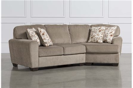 Incredible Patola Park 2 Piece Sectional W Raf Cuddler Chaise Main Squirreltailoven Fun Painted Chair Ideas Images Squirreltailovenorg