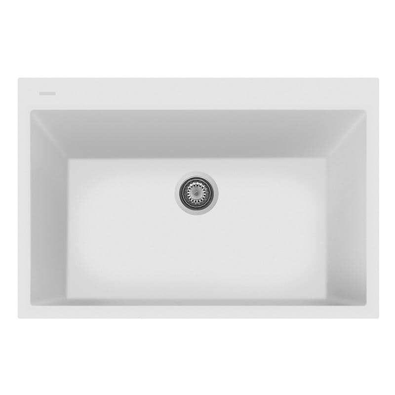 Latoscana Plados 33 X 22 Single Basin Granite Drop In Sink