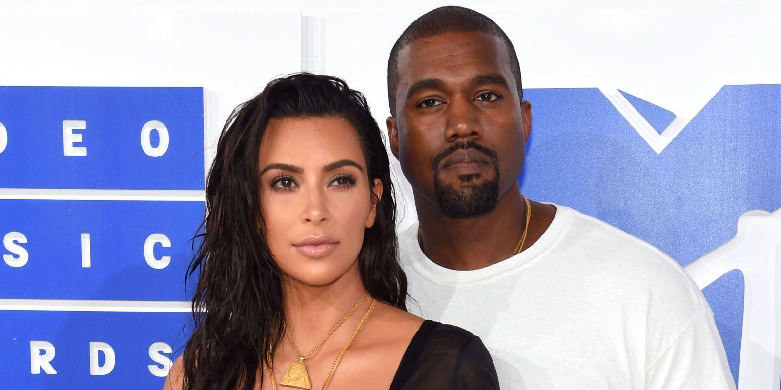 Kim Kardashian Is Wearing A Completely Sheer Mini Dress At The Vmas Kim Kardashian Kanye West Kim Kardashian And Kanye Kim And Kanye