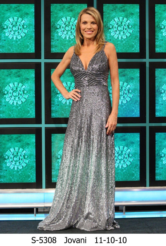 vanna white's dresses - Google Search | vannawear | Pinterest ...