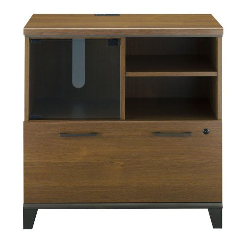Bush Furniture Achieve Lateral FilePrinter Stand in Warm Oak >>> Continue to the product at the image link.Note:It is affiliate link to Amazon.