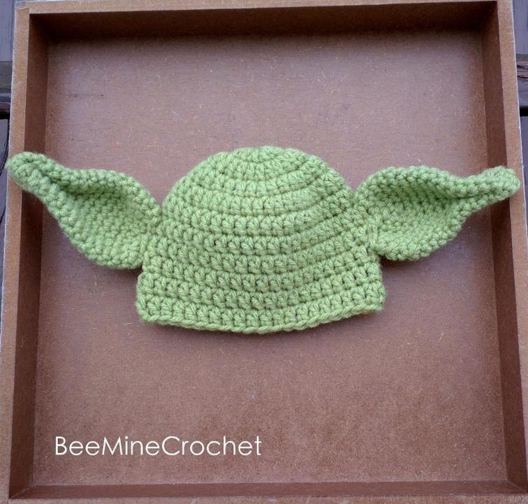 Newborn Crochet Yoda Outfit Baby PATTERN   Craftsy   Estrellita ...