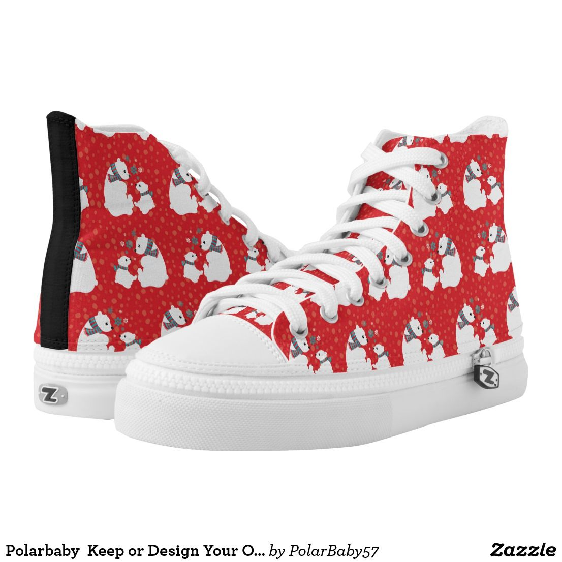 6aeddfd818a1 Polarbaby Keep or Design Your Own High Top Shoes