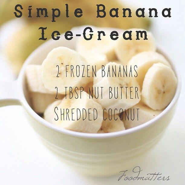 Healthy & Clean Nanner Ice Cream