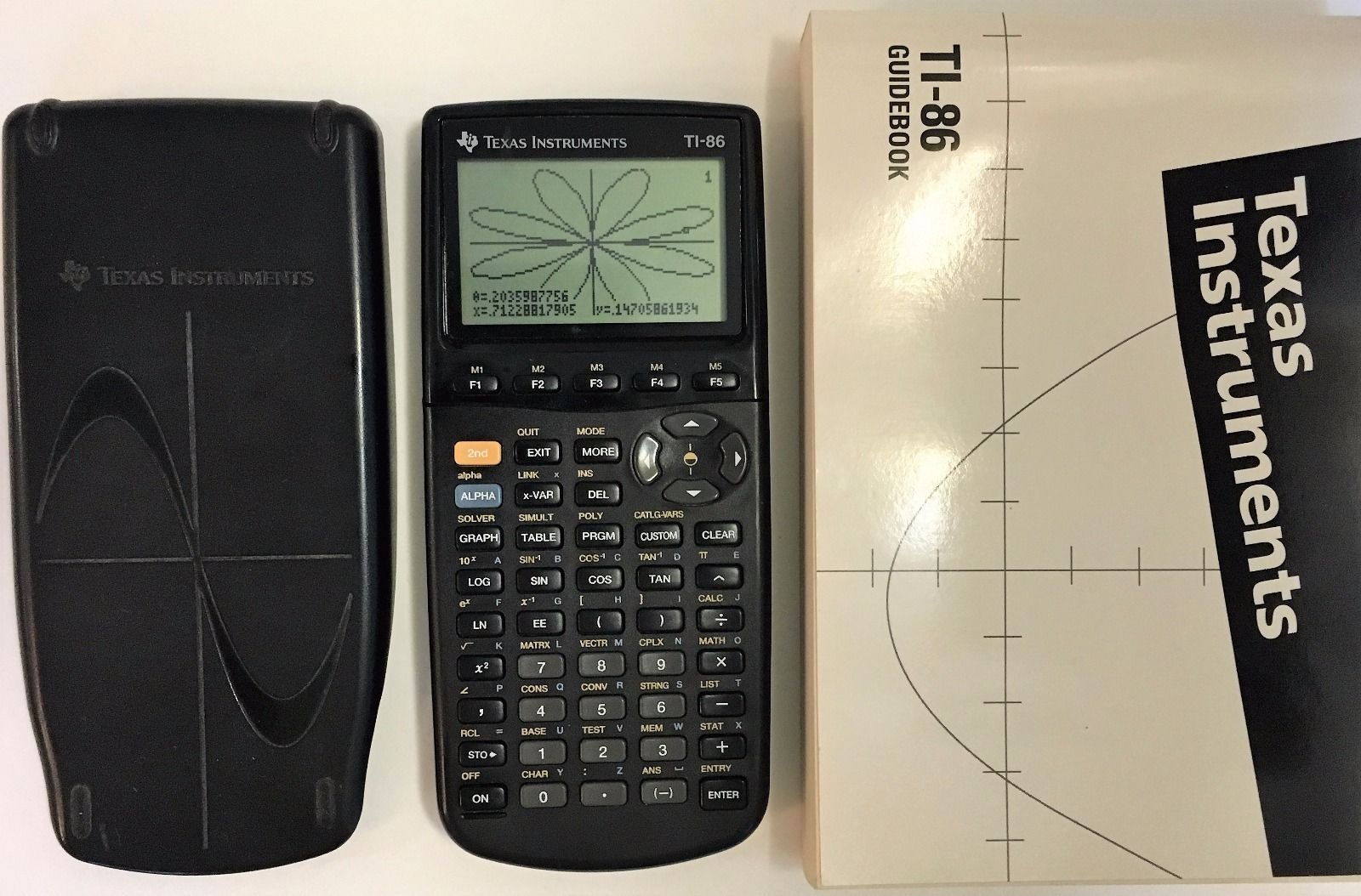 texas instruments ti 86 graphing calculator and guidebook manual rh pinterest com ti 86 manuel d'utilisation ti 86 manual free download