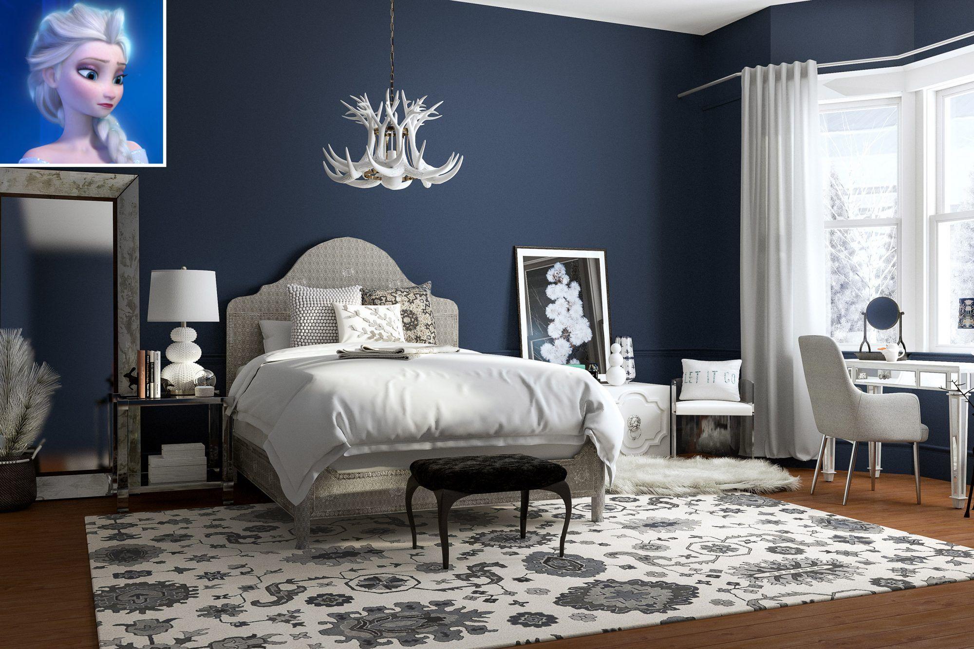 disneyprincess inspired bedrooms  scandinavian style