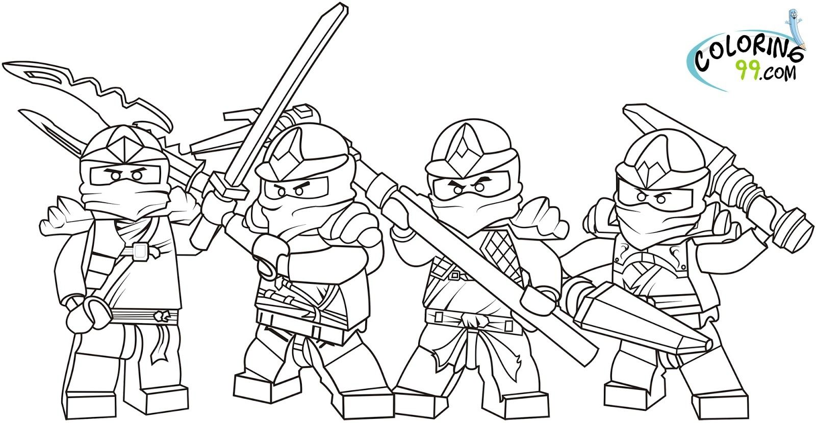 picture regarding Ninja Coloring Pages Printable identified as Pin as a result of Coloring Internet pages Young children Style upon Coloring Webpages Lego