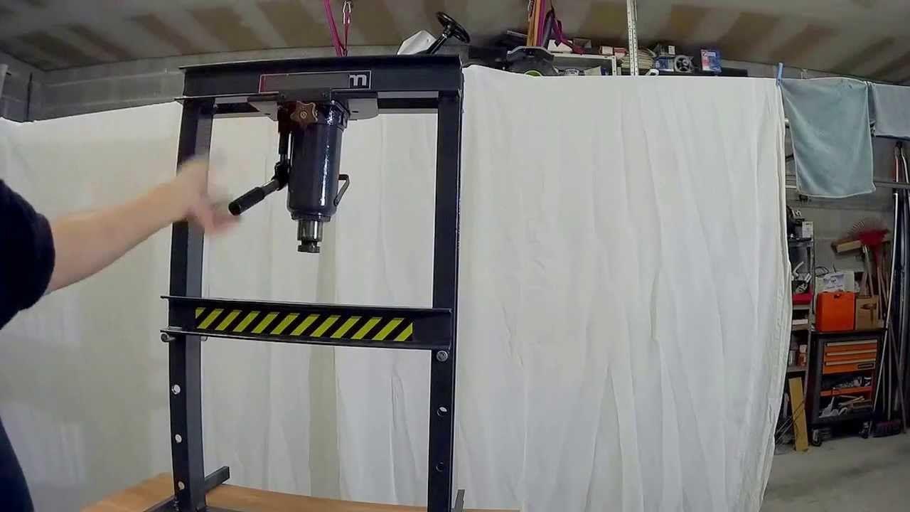 Superieur Presse Hydraulique Fait Maison Moins De 30u20ac Images Etonnantes