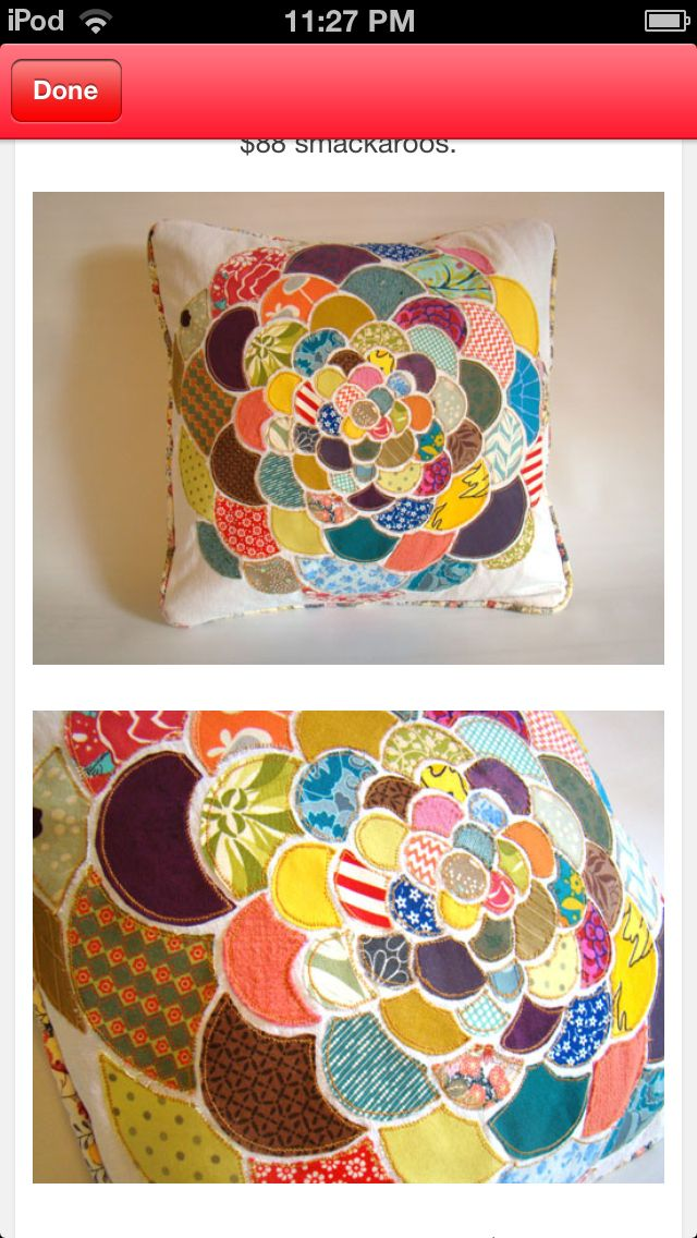 Crafty Pillow