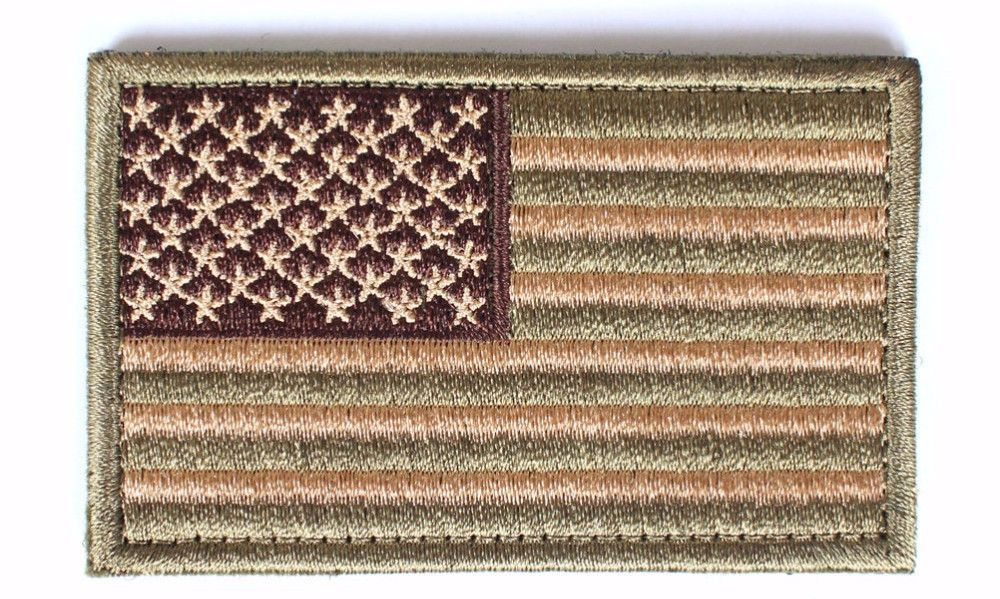 Tactical American Backpack Patch