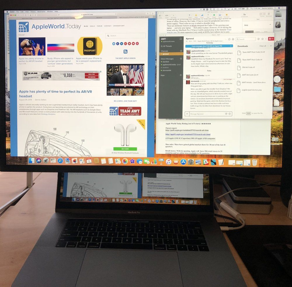 LG UltraFine 5K is a good display for new MacBook Pros (even