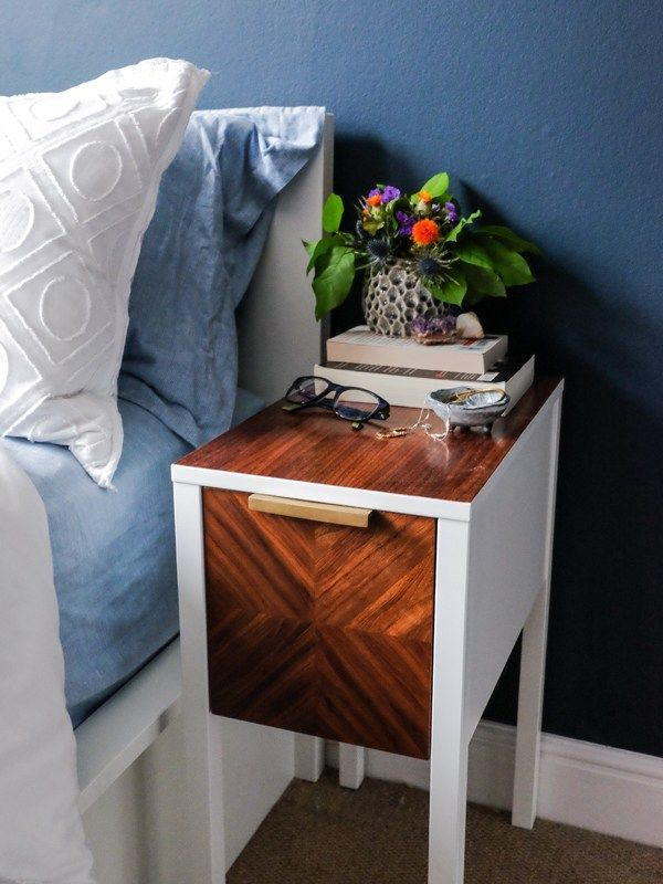 DIY Hemnes Side Table Hack | Ikea side
