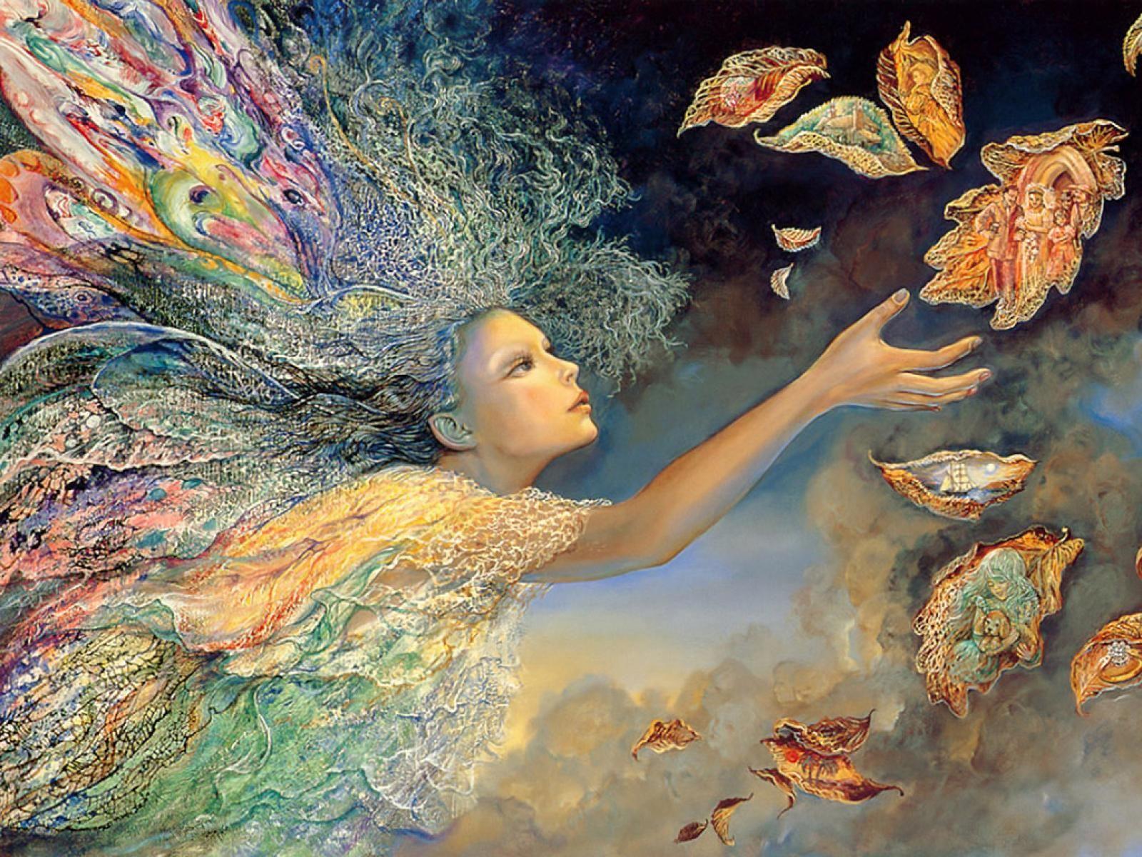 Josephine Wall Art wish catcher ~ josephine wall | mystical enchanted worlds