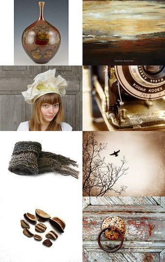 Browns by Erin Galliher on Etsy--Pinned with TreasuryPin.com