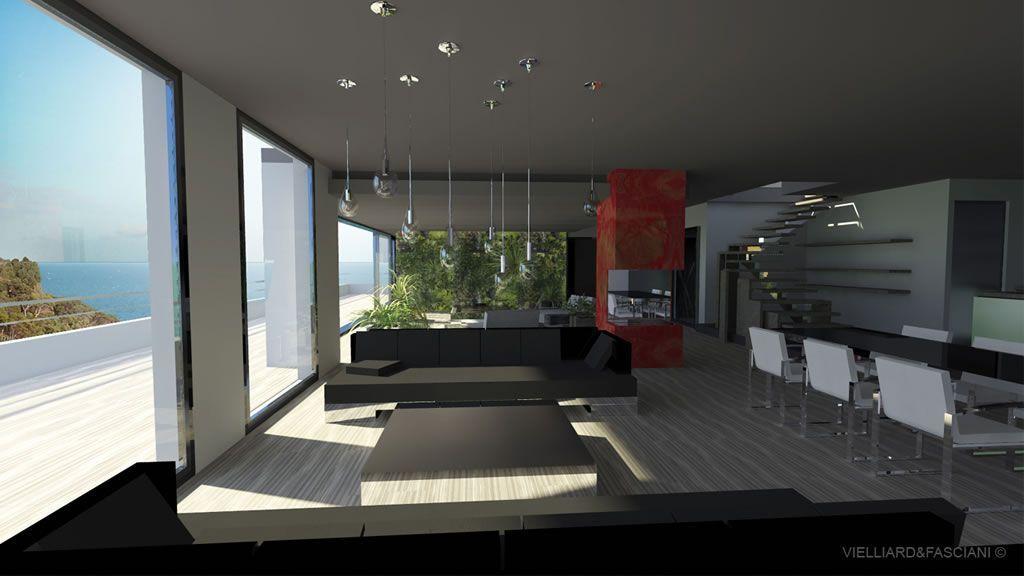 entrée interieur maison moderne - Recherche Google Salon - entree de maison contemporaine