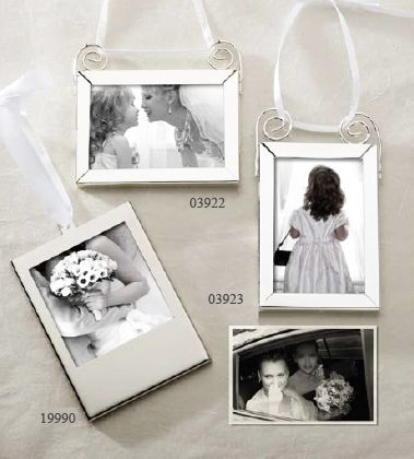 picture frame hanging ornament holiday theme wedding favors wedding favor themes wedding favors - Mini Picture Frame Ornaments