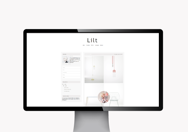 Blog Milk Shop - Wordpress Themes: Lilt Wordpress Theme