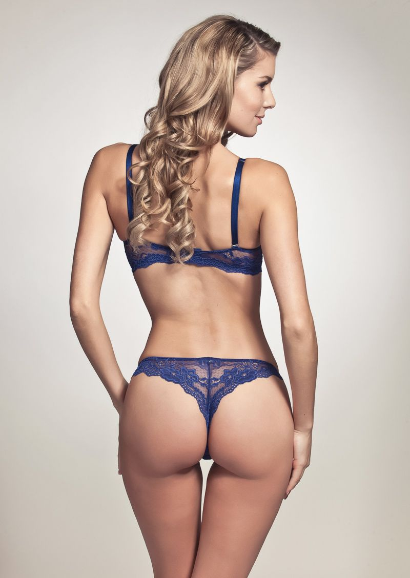 lace thong blue | how i love to see girls dressed - lingerie