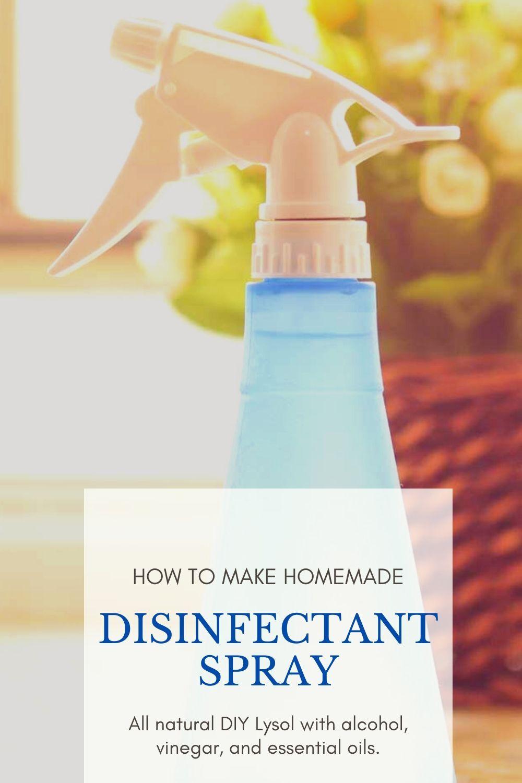 Disinfectant Spray Diy Recipe Spray Disinfectant Spray Diy Sprays