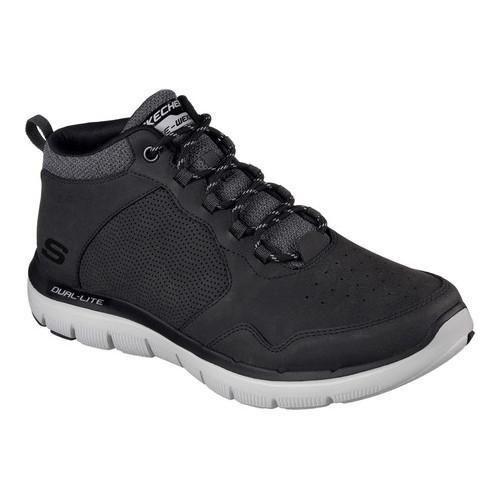 Men's Skechers Flex Advantage High-Key Trainer Black | Shopping - The Best  Deals on Sneakers