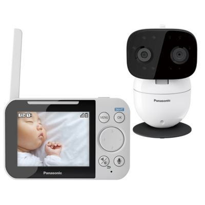 Night Vision Long Transmission Range 2.4 Color Screen ECO Mode Video Baby Monitor with Camera Temperature Sensor Two-Way Talk Audio 2019 Upgraded